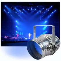 Par 64 De Led Silver Sistema Dmx 512 Digital - Audiotech