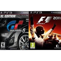 Gran Turismo 5 Xl / Formula 1 2011 Todo En Ps3 Nuevos!!!