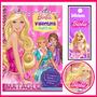 2x1 Invitaciones Barbie Escuela De Princesas Golosinas Cajas