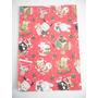 Sanrio - Navidad - Bolsa De Papel - Diseño : Fondo Rojo