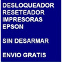 Desbloqueador Reset Impresora Epson Tx120 Envio X Internet