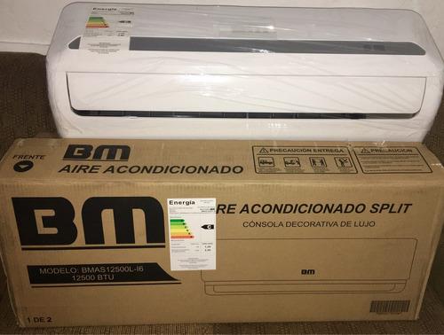 Aire acondicionado split bm 12500btu nuevos en caja for Caja aire acondicionado