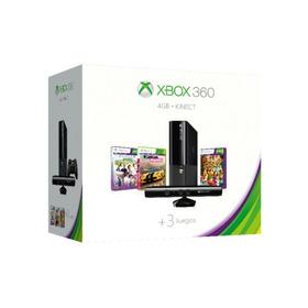 Xbox 360 E 4gb Con Control Inalámbrico + Kinect+ 3 Juegos