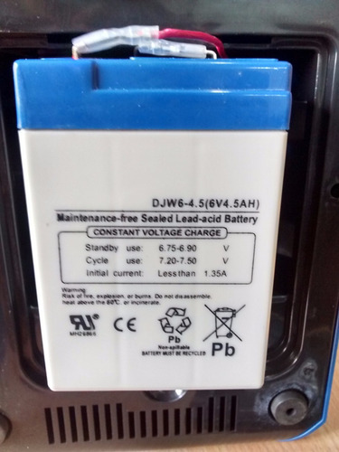 Ventilador recargable con luz de emergencia 2 velocidades - Luz de emergencia precio ...