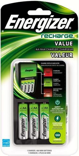 Cargador de pilas baterias energizer 4 pilass aa bs vzivm precio d venezuela - Cargador de pilas precio ...