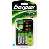 Cargador De Pilas / Baterias Energizer + 4 Pilass Aa
