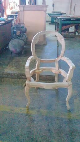 Poltrona para tapiceria estructura de madera bs - Tapiceria de sillas precios ...