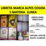 Libreta Grande Cosida 1 Materia Al Mayor