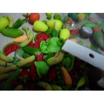 Maquetas Figura De Frutas En Masa Flexible Docena