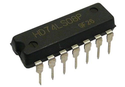 Circuito Integrado 7404 : Compuertas logicas ls  bs f