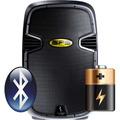 Corneta Amplificada Sps 12abt 500w Bateria Bluetoot Usb Ipod
