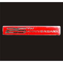 Emblema Trasero Para Camaro 25 Aniversario