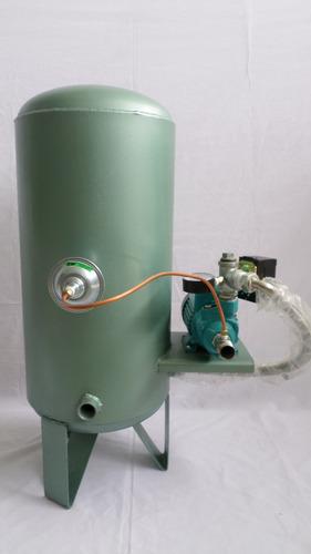 Hidroneumatico 20 galones con bomba 1 2 hp marca bombagua for Precio de hidroneumatico