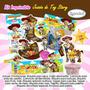 Kit Imprimible Jessie Toy Story Tarjeta Invitaciones 2x1