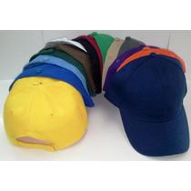 Gorras Para Publicidad Y Bordar ( Gorras Unicolor )