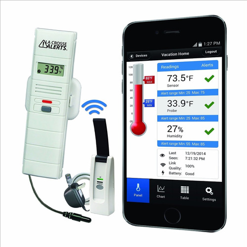 Sistema de monitoreo de temperatura y humedad la crosse bs v5mzn precio d venezuela - Aparato para la humedad ...