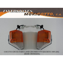 Cocuyo Cruce Faro Land Cruiser Fj75 Machito 1985-2002