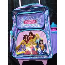 Bellas Maletas Escolares Princesas Disney Originales