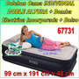 Cama Inflable Doble Altura Individual Bomba Elec Incp 66731