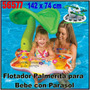 Palmerita Flotadora Inflable Parasol Salvavidas Intex 56577