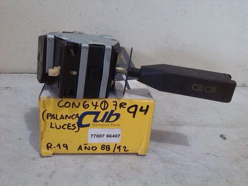 Conmutador luz palanca renault r19 88 al 92 bs - Conmutador de luz ...