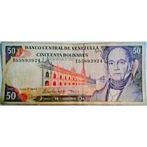 1995 5 De Junio T Billete De 50 Bolívares