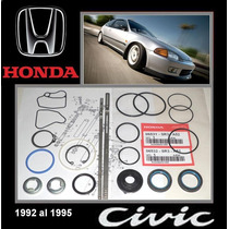 Civic 1992 95 Kit Cajetin Direccion Hidraulic Original Honda