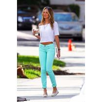 Pantalones Jeans De Colores Importados Americanos De Moda