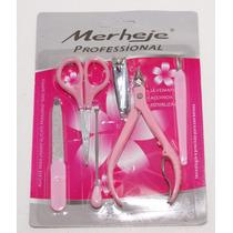 Set Para Manicure Y Pedicure 6 Pza.