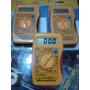 Tester Multimetro Digital Pantalla Lcd Trabaj Electricidad