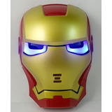 Mascara Iron Man Avenger Con Luces Led Juguete