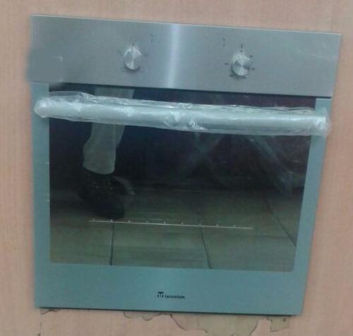 Horno cocina empotrar el ctrico tecnolam 60 cm acero inox for Hornos de cocina electricos