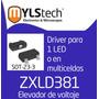 Zxld381 Led Driver Elevador Voltaje Para Usar Pilas De 1.5 V