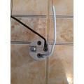 Socate De Porcelana E-27 250v 600w Con Cable