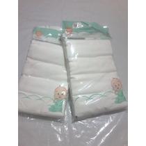 Pañales De Tela Blancos Para Niños Niñas Bebes 100 % Algodon