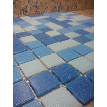 Mosaico Para Piscinas Azul Mixto