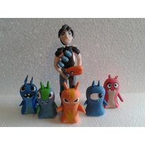 Muñecos Para Tortas En Masa Flexible Porcelana Fria