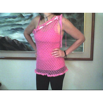 Blusa,faldas,pareos, Shord Y Cotilla Tejidas A Mano Crochet