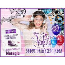 Invitaciones Violetta Segunda Temp. Etiquetas Marcos Imagene