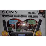 Micrófono Inalámbrico Profesional Sony Sn-378