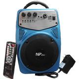 Corneta Amplificada Recargable Usb Control Y Entra Microfono