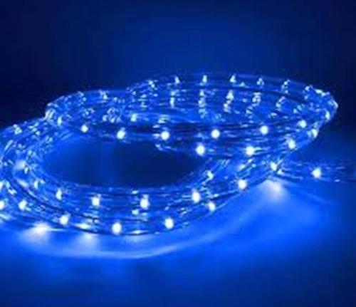 Manguera de luces led azul 8mts varias funciones nadivad - Manguera luces navidad ...