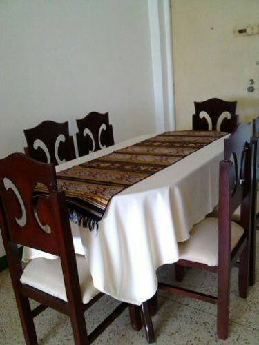 Comedor de seis puestos usado bs u7hak precio d for Comedor 12 puestos