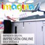 Imprenta Digital Impresión Offset, Gigantografía, Litografía