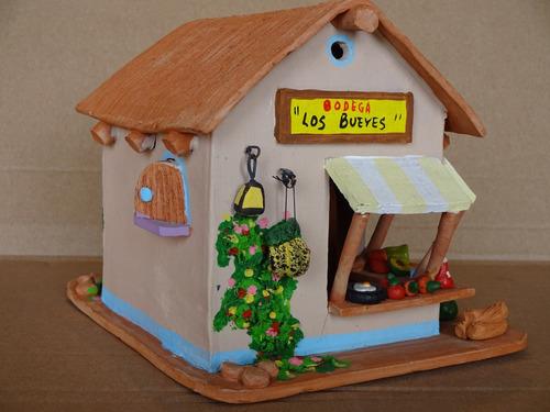 Artesania casa fruteria en arcilla regalo decoracion hogar - Regalos decoracion hogar ...
