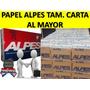 Papel Alpes Tamaño Carta Mayor Y Gran Mayor