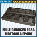 Cargador Multiple 8 Puestos Para Motorola Ep450 Generico