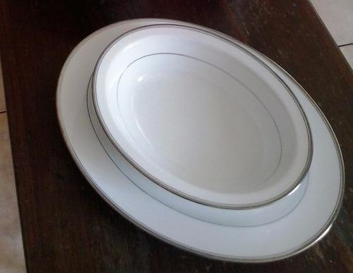 Elegante vajilla de porcelana rena ware con borde de for Vajilla precio