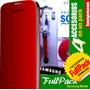 Estuches Samsung Flip Cover S3, S4, Grand Pack 4 Accesorios