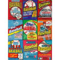 Rematando Paqueticos De Barajitas De Beisbol Sellados